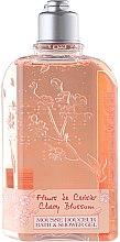 Парфюмерия и Козметика Душ гел - L'Occitane Cherry Blossom Bath & Shower Gel