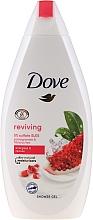 Парфюмерия и Козметика Душ гел с нар и хибискус - Dove Go Fresh Reviving Shower Gel