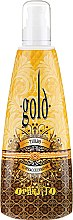 Парфюмерия и Козметика Мляко за солариум за интензивен тен - Oranjito Max. Effect Gold Turbo