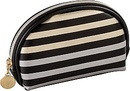 Парфюмерия и Козметика Овална козметична чанта - Inter-Vion Metallic Line
