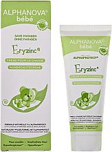 Парфюмерия и Козметика Крем против подсичане - Alphanova Baby Natural Eryzinc Nappy Rash Cream