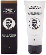 Парфюми, Парфюмерия, козметика Хидратиращ крем за лице и брада - Percy Nobleman Face & Stubble Moisturiser