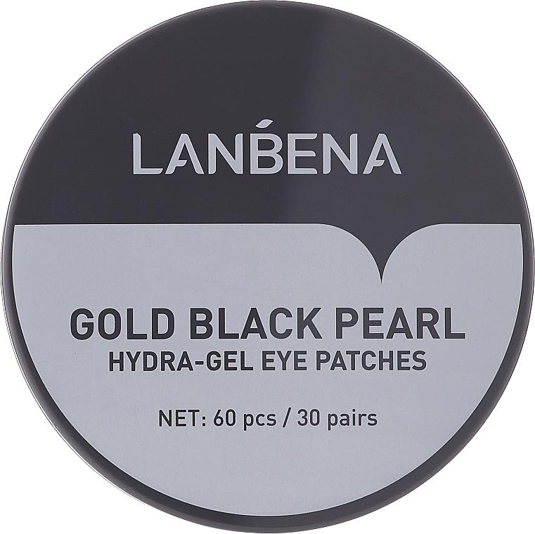 Хидрогел пачове за очи със злато и черна перла - Lanbena Gold Black Pearl Hydra-Gel Eye Patch