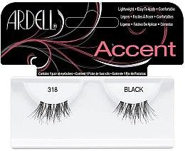 Парфюмерия и Козметика Изкуствени мигли - Ardell Lash Accents Black 318