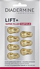 Парфюмерия и Козметика Лифтинг капсули за лице - Diadermine Lift+ Super Filler Capsules