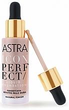 Парфюмерия и Козметика Течен фон дьо тен - Astra Make-Up Icon Perfect Liquid Foundation