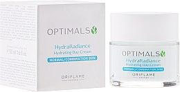 Парфюмерия и Козметика Овлажняващ дневен крем за нормална и комбинирана кожа - Oriflame Optimals Hydra Radiance Hydrating Day Cream