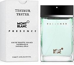 Montblanc Presence - Тоалетна вода (тестер с капачка)  — снимка N2