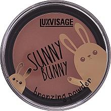 Парфюмерия и Козметика Бронзираща пудра за лице - Luxvisage Sunny Bunny Bronzing Powder