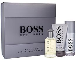 Парфюмерия и Козметика Hugo Boss Boss Bottled - Комплект (тоал. вода/100ml + душ гел/150ml + део спрей/150ml)