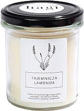 Парфюмерия и Козметика Свещ с аромат на лавандула - Hagi