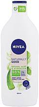 Парфюмерия и Козметика Лосион за тяло - Nivea Naturally Good Body Lotion