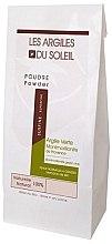 Парфюми, Парфюмерия, козметика Зелена козметична глина - Les Argiles du Soleil Superfine French Green Montmorillonite Clay