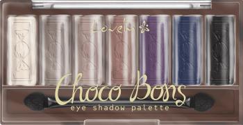 Палитра сенки за очи - Lovely Choco Bons — снимка N1