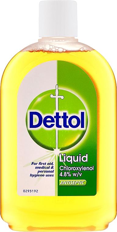 Дезинфицираща течност първа помощ при рани, ухапвания и ужилвания - Dettol Liquid Antiseptic