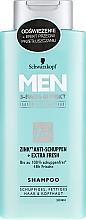 Парфюмерия и Козметика Шампоан против пърхот - Schwarzkopf Men Deep Effect 3 Zinc Anti-Dandruff+Oil Control Shampoo