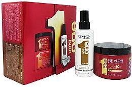 Парфюмерия и Козметика Комплект - Revlon Professional Uniq One (msk/300ml + spray/150ml)