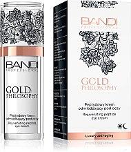 Парфюми, Парфюмерия, козметика Околоочен крем с пептиден комплекс - Bandi Professional Gold Philosophy Rejuvenating Peptide Eye Cream