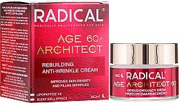 Парфюми, Парфюмерия, козметика Възстановяващ крем против бръчки 60+ (нощен) - Farmona Radical Age Architect 60+