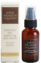 Парфюми, Парфюмерия, козметика Серум за мазна кожа - John Masters Organics Bearberry Oily Skin Balancing Face Serum