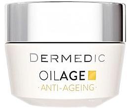 Парфюми, Парфюмерия, козметика Дневен крем с фитоестроегени, забавящ процеса на стареене 40-60+ - Dermedic Oilage Tri Oleum