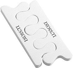 Парфюмерия и Козметика Разделител за педикюр - Lussoni Pedicure Toe Separators