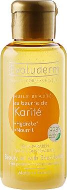 Масло от Ший за коса и кожа - Evoluderm Huiles de Beaute Beauty Oil With Shea