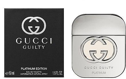 Gucci Guilty Platinum Edition - Тоалетна вода — снимка N3