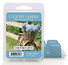 Парфюмерия и Козметика Восък за аромалампа - Country Candle Country Love Wax Melts