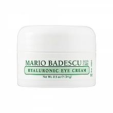 Парфюмерия и Козметика Околоочен крем с хиалурон - Mario Badescu Hyaluronic Eye Cream