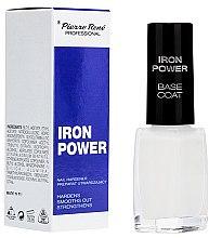 Парфюми, Парфюмерия, козметика Укрепваща основа за нокти - Pierre Rene Iron Power Base Coat