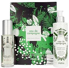 Парфюмерия и Козметика Sisley Eau De Compaigne Jungle Gift Set - Комплект (тоал. вода/100ml + душ гел/250ml)