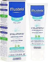 Парфюмерия и Козметика Омекотяващ крем за лице - Mustela Bebe Emollient Cream