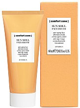 Парфюмерия и Козметика Крем за лице след плаж - Comfort Zone Sun Soul Face Cream Aftersun