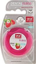 Парфюмерия и Козметика Конец за зъби Dental Floss с аромат на ягоди - SPLAT