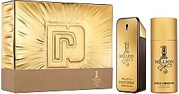 Парфюмерия и Козметика Paco Rabanne 1 Million - Комплект (тоал. вода/100 + дезод./150)