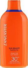 Парфюми, Парфюмерия, козметика Лосион за тен - Lancaster Sun Beauty Velvet Tanning Milk SPF 30