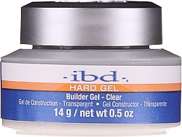Парфюмерия и Козметика Гел за изграждане, прозрачен - IBD Hard Gel Builder Gel Clear