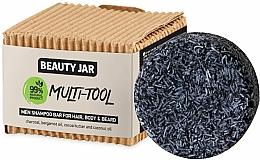 Парфюмерия и Козметика Шампоан за коса, тяло и брада за мъже - Beauty Jar Multi-Tool Men Shampoo Bar For Hair, Body & Beard