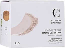 Парфюмерия и Козметика Минерална полупрозначна насипна пудра за лице - Couleur Caramel High Definition Silk Powder