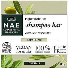 Парфюмерия и Козметика Твърд шампоан за суха коса - N.A.E. Repairing Shampoo Bar
