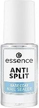Парфюмерия и Козметика Основа за нокти против нацепване - Essence Anti Split Base Coat Nail Sealer