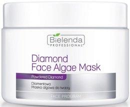 Парфюмерия и Козметика Брилянтна маска за лице - Bielenda Professional Diamond Face Algae Mask