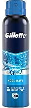 Парфюмерия и Козметика Спрей дезодорант-антиперспирант - Gillette Cool Wave Antiperpirant Spray