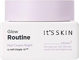 Парфюмерия и Козметика Нощен пилинг крем за лице - It's Skin Glow Routine Peel Cream Night