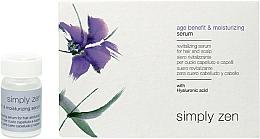 Парфюмерия и Козметика Ревитализиращ серум за коса - Z. One Concept Simply Zen Age Benefit & Moisturizing Serum