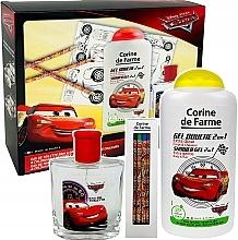 Парфюмерия и Козметика Disney Cars - Комплект (тоал. вода/50ml + душ гел/250ml)