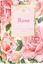 "Парфюмерия и Козметика Натурален сапун ""Роза"" - Saponificio Artigianale Fiorentino Masaccio Rose Soap"
