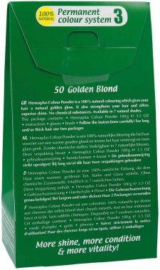 Боя за коса на основата на къна - Hennaplus Colour Powder — снимка N2