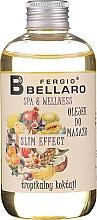 Парфюмерия и Козметика Плодово масажно масло - Fergio Bellaro Massage Oil